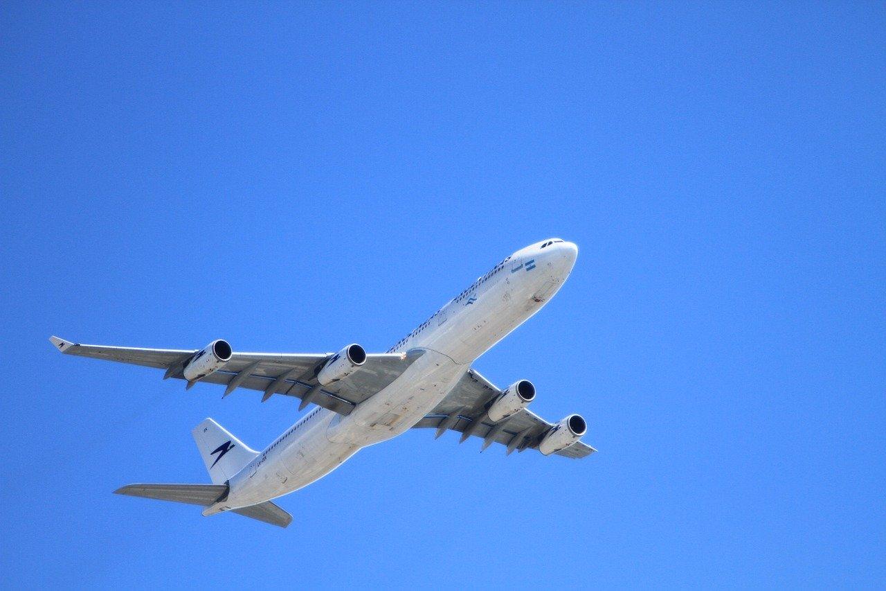 plane, aircraft, take-off