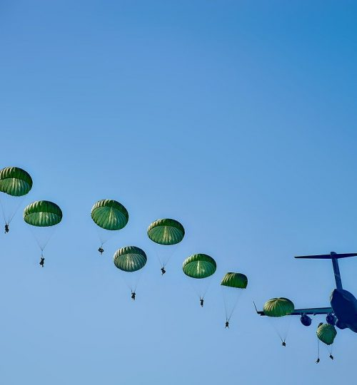 army, rangers, parachuting