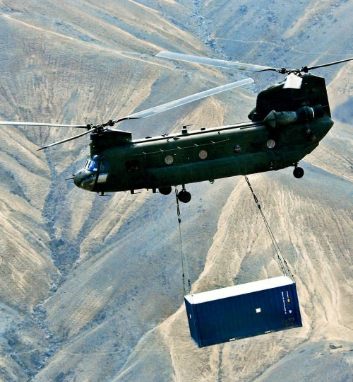 helicopter, chinook helicopter, sling load